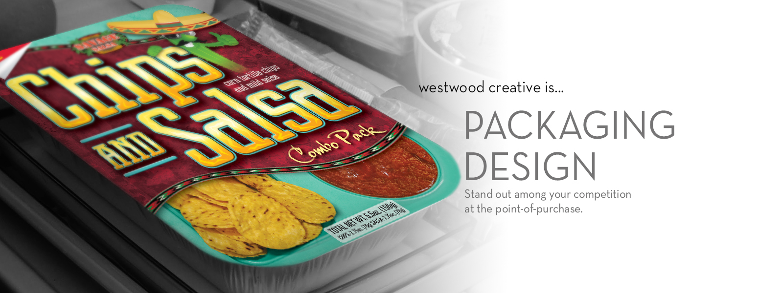 Westwood Creative Packaging Design Services