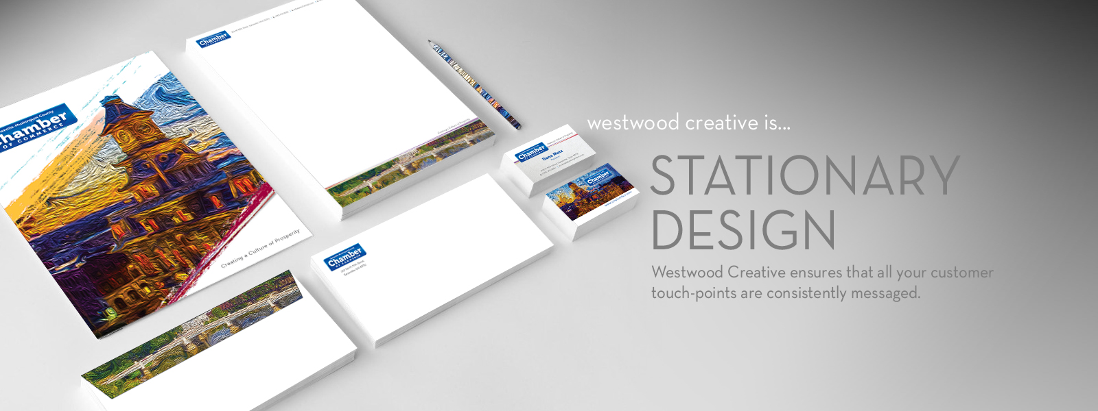 westwood creative Stationary Design