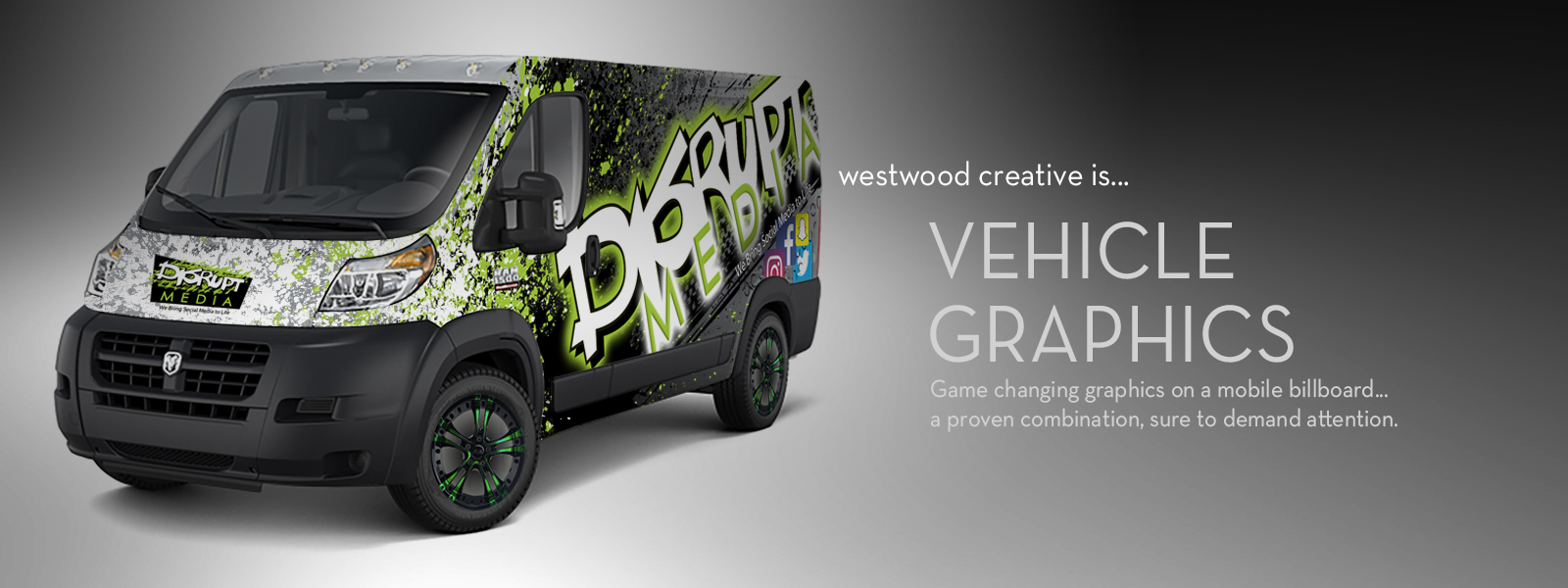 westwood creative Vehicle Graphics